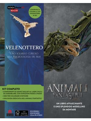 Velenottero. Animali fantastici e dove trovarli. Uno sguardo curioso alla magizoologia del film. Incredibuilds puzzle 3D da J. K. Rowling. Nuova ediz. Con gadget
