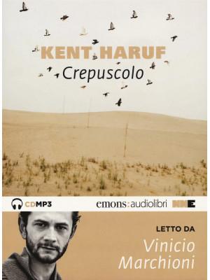 Crepuscolo. Trilogia della pianura letto da Vinicio Marchioni. Audiolibro. CD Audio formato MP3. Vol. 2