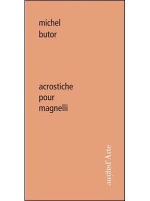 Acrostiche pour Magnelli