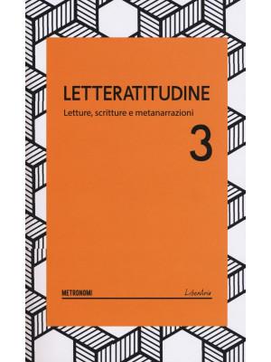 Letteratitudine. Vol. 3