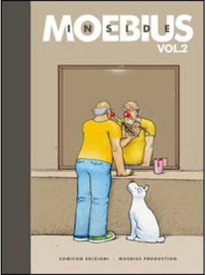 Inside Moebius vol. 2-3. Ediz. limitata