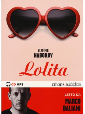 Lolita letto da Marco Baliani. Audiolibro. CD Audio formato MP3