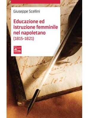 Educazione ed istruzione femminile nel napoletano (1815-1821)