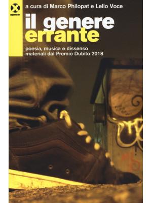 Il genere errante. Poesia, musica e dissenso. Materiali dal Premio Dublino 2018