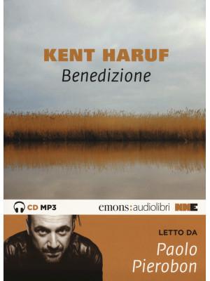 Benedizione. Trilogia della pianura letto da Paolo Pierobon. Audiolibro. CD Audio formato MP3. Con mappa. Audiolibro. CD Audio formato MP3. Ediz. integrale