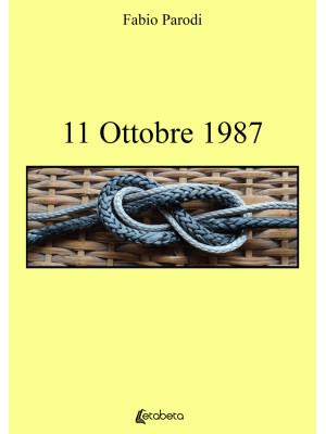 11 ottobre 1987