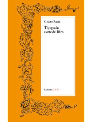 Tipografia e arte del libro