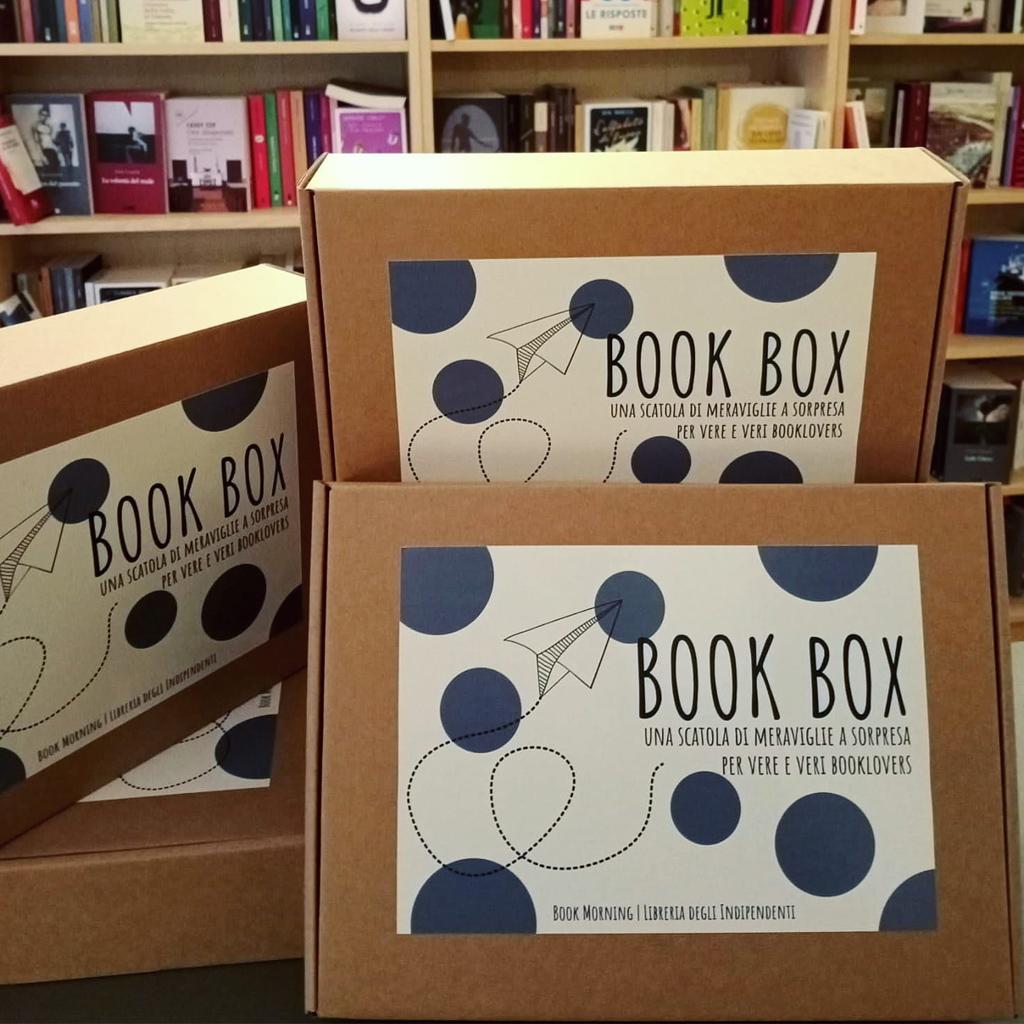 BookBox: una scatola di meraviglie a sorpresa